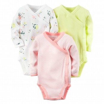 Carter's Little Bloom 3PC Side Snap Bodysuit Set