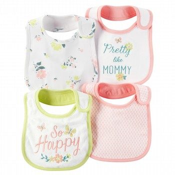 Carter's Little Bloom 4PK Bibs