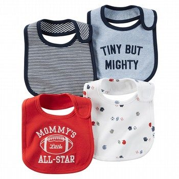 Carter's Little All Star 4PK Bibs