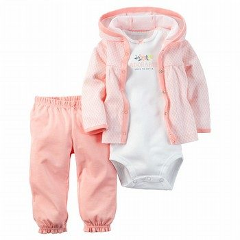 Carter's 3PC Babysoft Cardigan Set