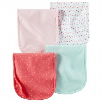 Carter's Hello Cutie 4PK Burp Cloths