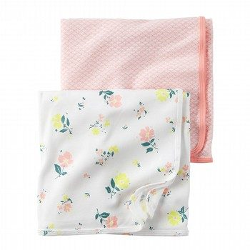 Carter's Little Bloom 2PK Swaddle