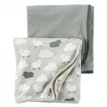 Carter's Little Lambie 2PK Swaddles