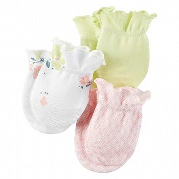 Carter's Little Bloom 3PK Mittens