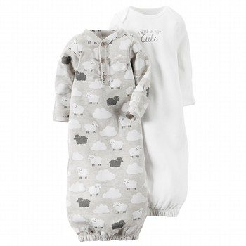 Carter's Little Lambie 2PK Gown