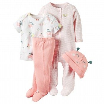 Carter's Little Bloom 4PC Take Me Home Set