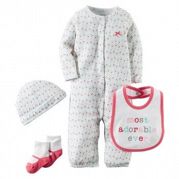 Carter's Hello Cutie 4PC Take Me Home Set