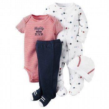 Carter's Little All Star 4PC Take Me Home Set