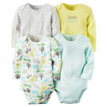 Carter's 5PK L/S Bodysuit Set