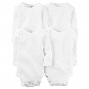 Carter's 4PK L/S Original Bodysuit