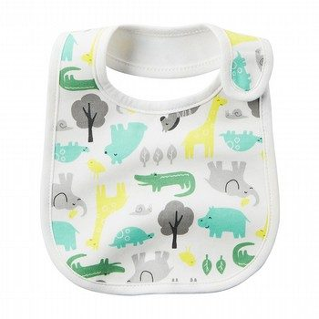 Carter's Animal Print Teething Bib