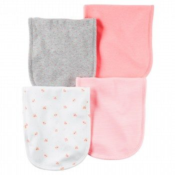 Carter's Hello Love 4PK Burp Cloth Set
