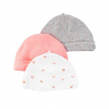 Carter's Hello Love 3PK Beanie Set