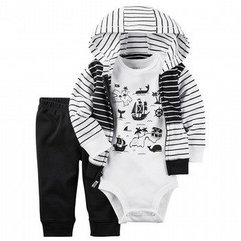 Carter's 3PC Little Matey Babysoft Jacket Set
