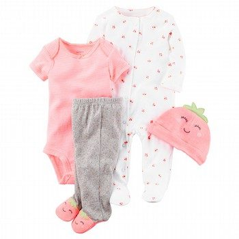 Carter's 4PC Neon Take-Me-Home Set