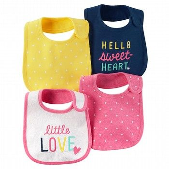 Carter's 4PK Teething Bibs