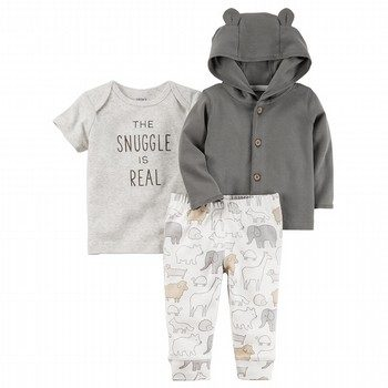 Carter's 3PC Babysoft Little Jacket Set