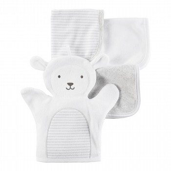 Carter's 4PK Washcloths