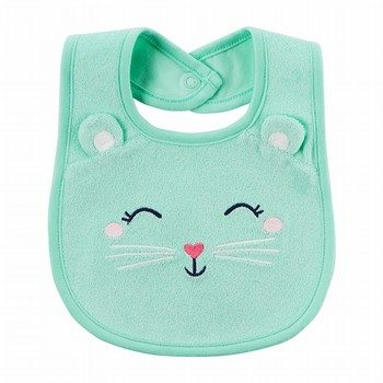Carter's Cat Teething Bib