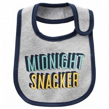 Carter's Midnight Snacker Teething Bib