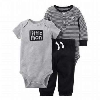 Carter's 3PC Babysoft Bodysuit Pant Set