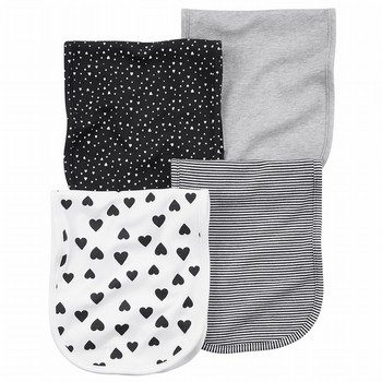 Carter's 4PK Burp Cloths