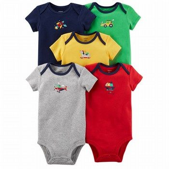 Carter's 5PK S/S Original Bodysuit