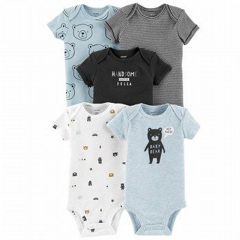 Carter's 5PK Bear Original Bodysuits