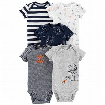 Carter's 5PK Lion Original Bodysuits