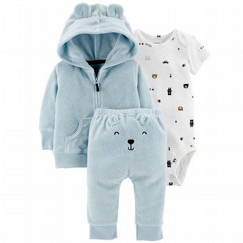 Carter's 3PC Terry Little Jacket Set