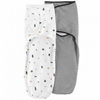 Carter's 2PK Babybsoft Easy Swaddles