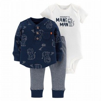 Carter's 3PC Lion Bodysuit & Tee Set