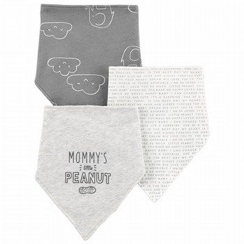 Carter's 3PK Bandana Teething Bibs