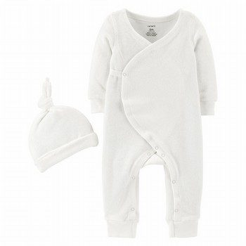 Carter's 2PC Jumpsuit and Hat Set