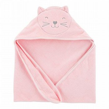 Carter's Cat Hooded Towel