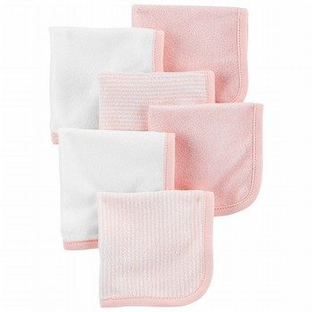 Carter's 6PK Washcloths