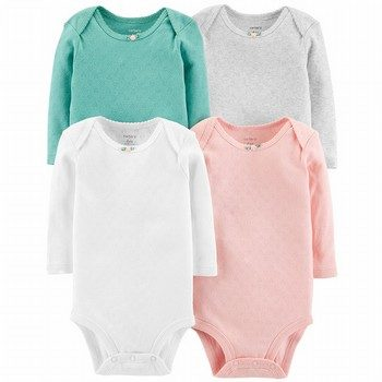 Carter's 4PK Hearts Original Bodysuits