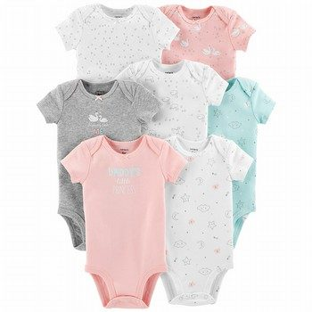 Carter's 7-Pack S/S Original Bodysuits