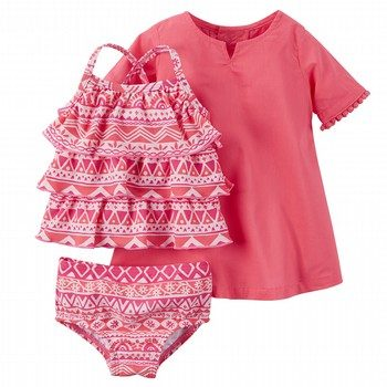 Carter's Moroccan 3PC Swim Set