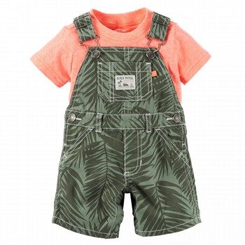 Carter's Little Aloha 2PC Shortall Set