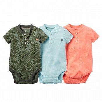 Carter's Little Aloha 3PK Bodysuit Set