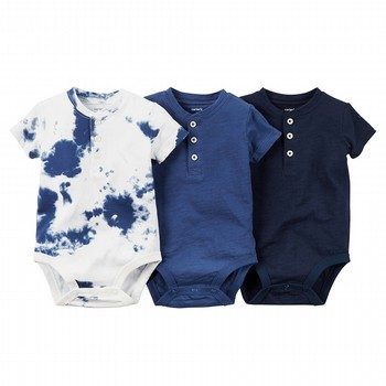 Carter's Little Indigo 3PK Bodysuit Set