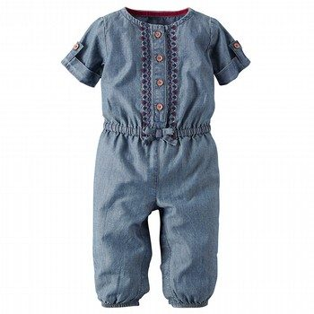Carter's Denim Jumpsuit