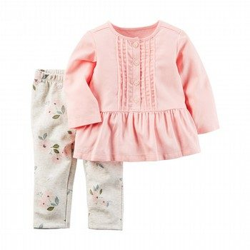 Carter's 2PC Little Top & Legging Set