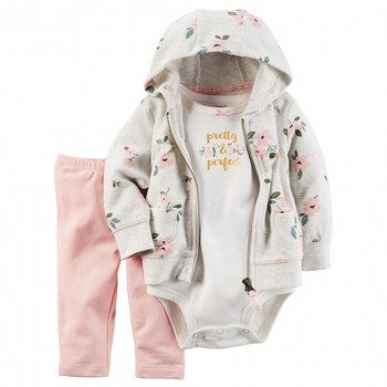 Carter's 3PC Little Jacket & Pant Set