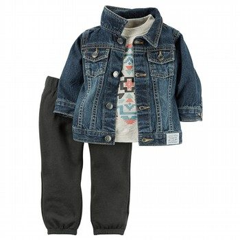Carter's 3PC Jacket & Pant Set