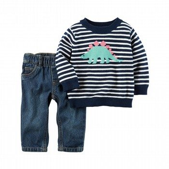 Carter's 2PC Little Sweater & Pant Set