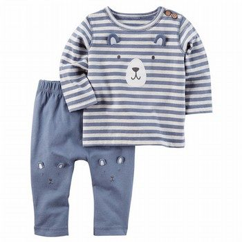 Carter's 2PC Bear Top & Pant Set