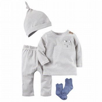 Carter's 4PC Babysoft Take-Me-Home Set
