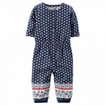 Carter's Printed Jumpsuit